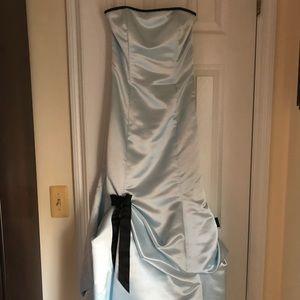 Beautiful satin gown
